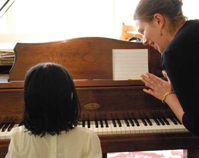 Private piano lesson