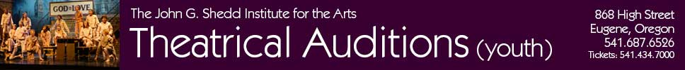 The Shedd Institute Auditions