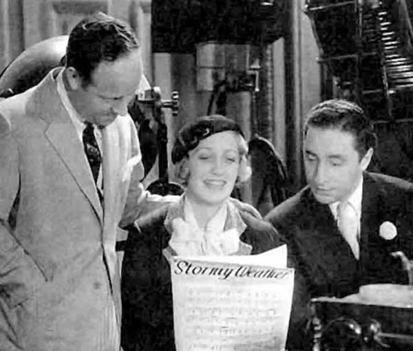 Harold Arlen with Ruth Etting