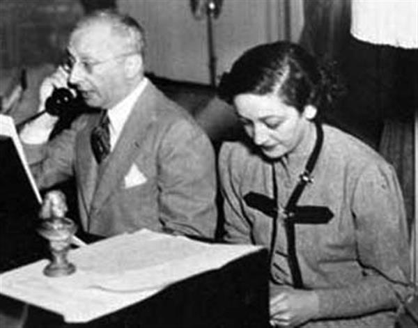 Dorothy Fields with Jerome Kern