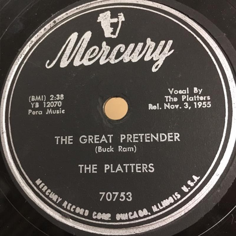 The Great Pretender - Mercury 70753