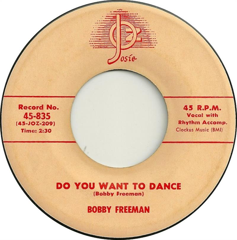 Do You Want To Dance - Josie 45-835