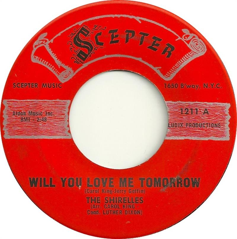 Will You Love Me Tomorrow - Scepter 1211A