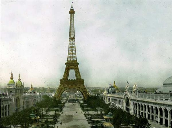 Eiffel Tower 1900