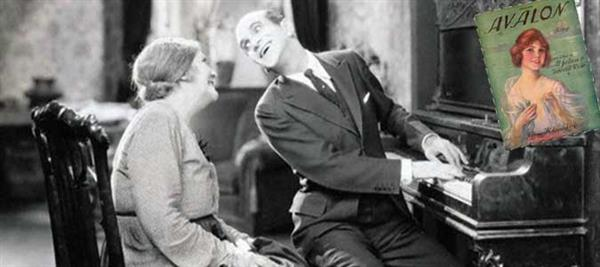 Al Jolson & mom in The Jazz Singer