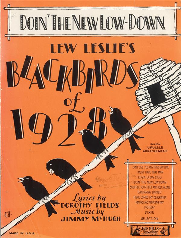 Doin' The New Low-Down Blackbirds of 1928