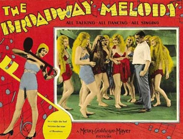 The Broadway Melody placard