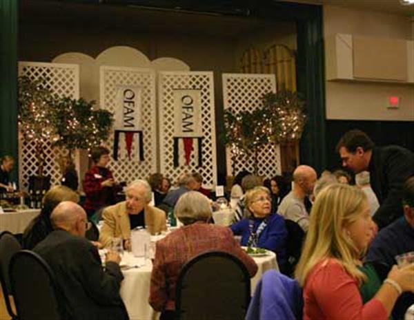 Dinner before Bill Frisell & Thomas Morgan