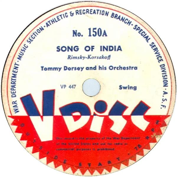 Song of India - Vdisc