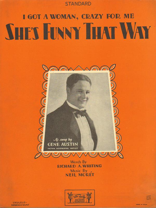She's Funny That Way - Gene Austin