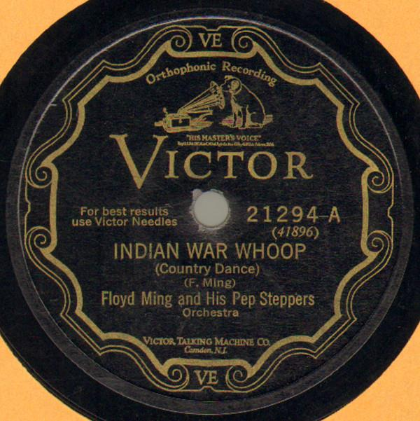 Indian War Whoop - Victor 21294-A