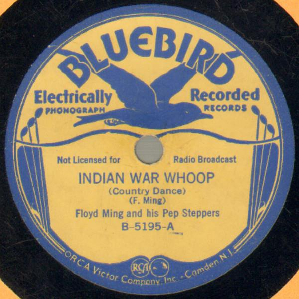 Indian War Whoop - Bluebird B-5195-A