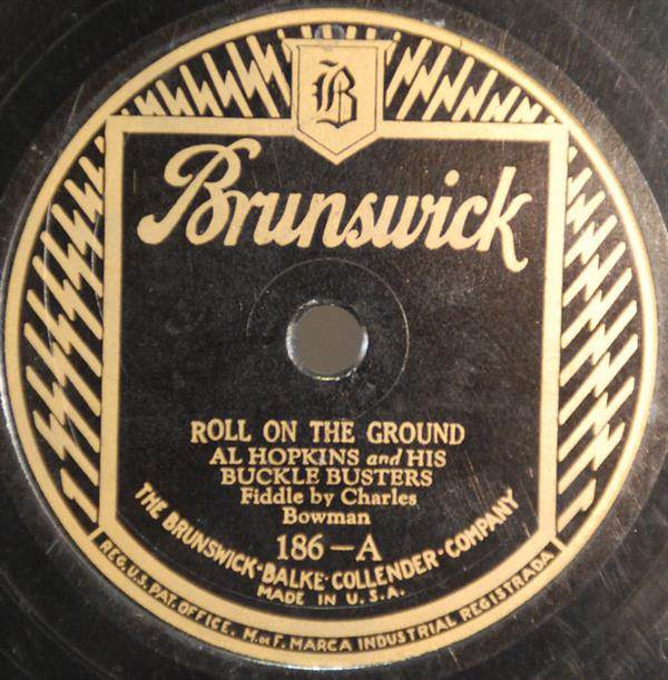 Roll On The Ground - Brunswick 186-A