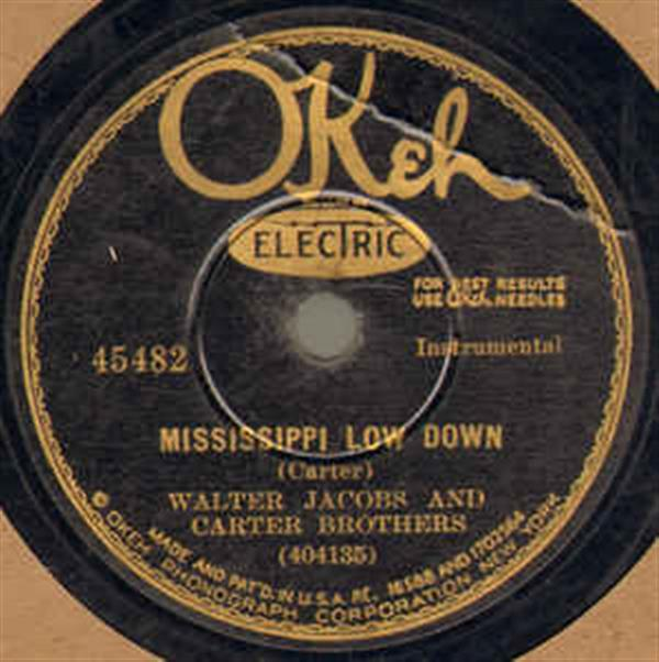 Mississippi Low Down - OKeh 45482
