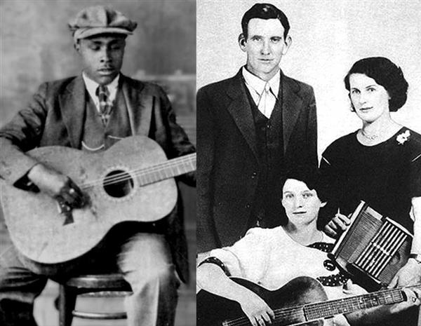 Chico Schwall: <br/> Blind Willie McTell & The Carter Family